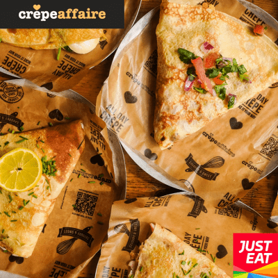 Order Via Just Eat At Crêpeaffaire Leeds Crêpeaffaire
