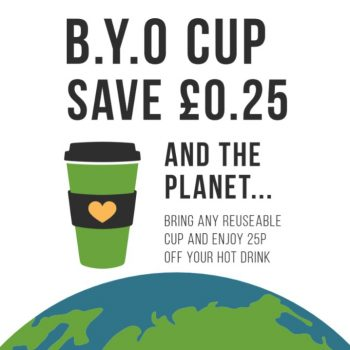 BYOC reusable cup discount