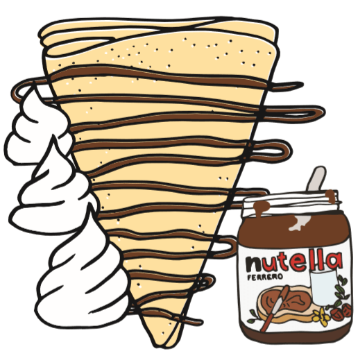 The Ultimate Nutella Crepe Crepeaffaire Crepeaffaire