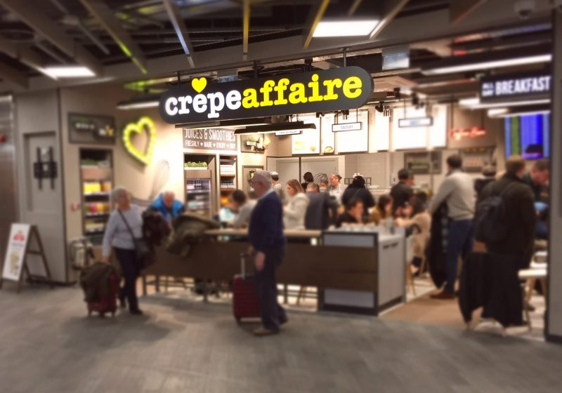 Luton Airport Crepeaffaire