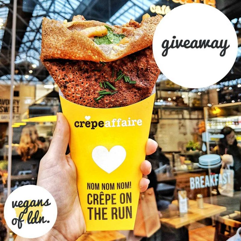 vegan crêpe date win competition